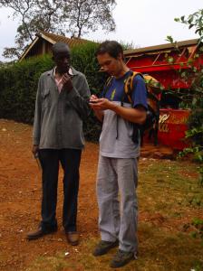 Mapování v chudinské čtvrti, Keňa