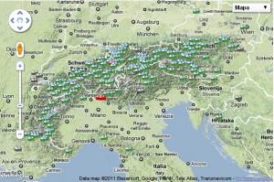 Skimap.org - pokryti Alp