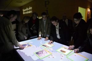 Augmented reality v muzeu (D. Grammenos, Řecko)
