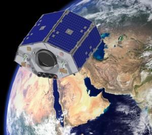 NigeriaSat-2 nad Afrikou, zdroj: http://www.technologynewsroom.com
