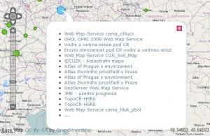 Dostupné WMS pro Prahu: zdroj: mapmatters.org