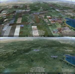 Stará a nová Zeměkoule, zdroj: GE Blog
