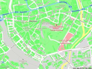 Styled Maps - Ještě zelenější Olomouc, poznáte, co je jinak, než by mělo?