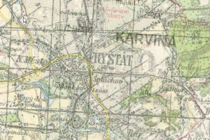 Cenia III. vojenské mapování, zdroj: CENIA