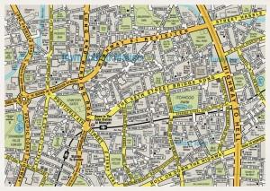 Mapa písní, zdroj: wearedorothy.com