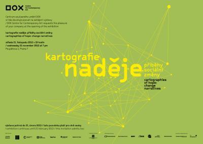 Pozvánka na výstavu Kartografie naděje: Příběh sociální změny