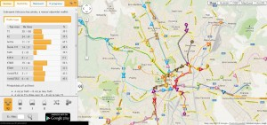 iRIS - Poloha vozidel MHD v Brně, zdroj: mhd.zolex.eu/