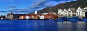 Bryggen nejznámější část Bergenu zapsaná na seznamu UNESCO, autor: Lukáš Marek