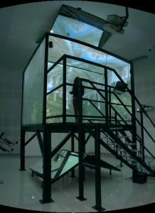 3D jaskyňa s virtuálnym lesom
