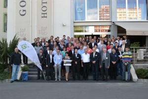 Účastníci 20. kartografické konference v Plzni