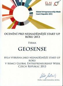 Geosense_oceneni