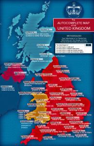 Tak trochu jiná mapa Spojeného království