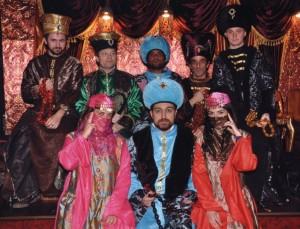 Sobotní sultana párty