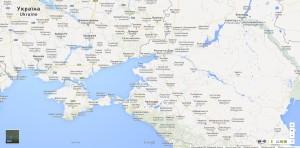 Ruská verze Google Maps