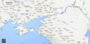 Ukrajinská verze Google Maps