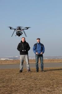 UAV v akci