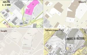Porovnání map