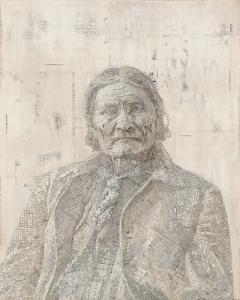 Geronimo, Matthew Cusick, 2007