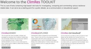 Ukázka z připravovaného systému CLIMRES