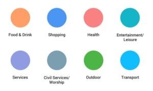 Nové barevné schéma Google Maps