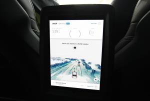 Rear iPad_ On-trip view